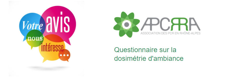 THE APCRRA NETWORK INVITES YOU TO COMPLETE A QUESTIONNAIRE ON AMBIENT DOSIMETRY